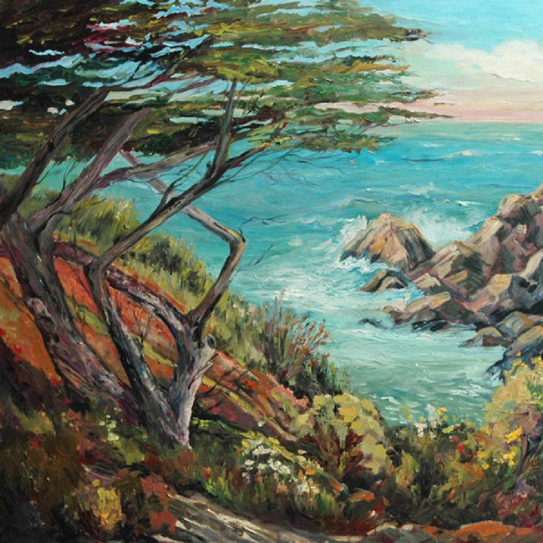 About Laguna Beach En Plein Air Oil Painter Abstract Artist